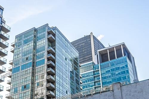 Condo-buildings-in-downtown
